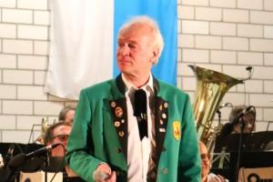 50 Jahre im Musikzug Burgfarrnbach: Dr. Wolfgang Ludwig