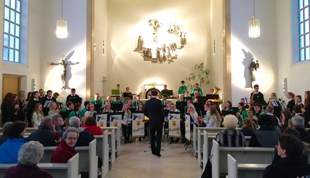 Hauptorchester und Jugendblasorchester